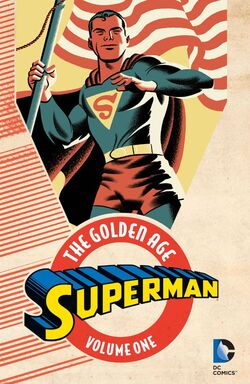 Cover for the Superman: The Golden Age Vol. 1 Trade Paperback