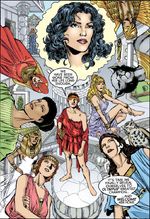 The goddesses of the Amazons.