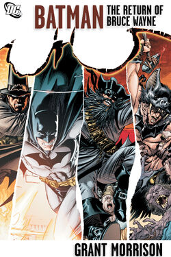 Cover for the Batman: The Return of Bruce Wayne Trade Paperback