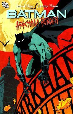 Cover for the Batman: Arkham Reborn Trade Paperback