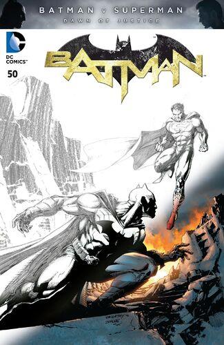 Batman v Supserman Fade Variant
