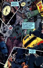 "Gotham City devastated by the ""Cataclysm"""