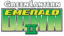 Green Lantern Emerald Dawn II (1991) logo