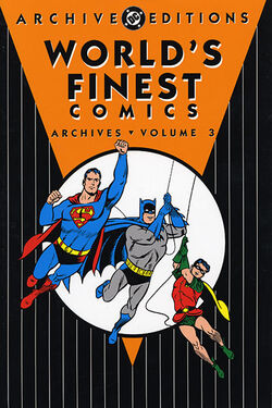Cover for the World's Finest Comics Archives Vol 3 Trade Paperback