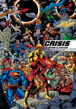 Cover for the Crisis on Infinite Earths: Absolute Edition Trade Paperback