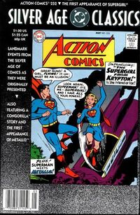 DC Silver Age Classic Action Comics 252