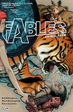 Cover for the Fables: Animal Farm Trade Paperback