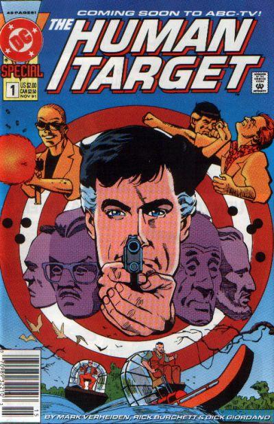 Human Target Special Vol 1 1   DC Database   FANDOM powered