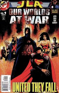 JLA Our Worlds at War 1