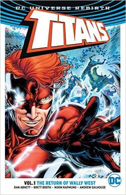Cover for the Titans: The Return of Wally West Trade Paperback