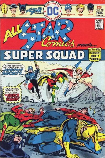 Image result for all star comics 58