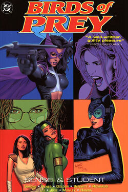 Cover for the Birds of Prey: Sensei and Student Trade Paperback