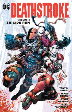 Cover for the Deathstroke: Suicide Run Trade Paperback