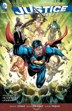 Cover for the Justice League: Injustice League Trade Paperback