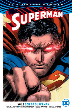 Cover for the Superman: Son of Superman Trade Paperback