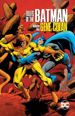 Cover for the Tales of the Batman: Gene Colan Vol. 2 Trade Paperback