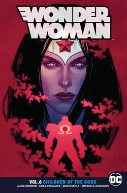 Cover for the Wonder Woman: Children of the Gods Trade Paperback