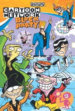 Cover for the Cartoon Network Block Party: Get Down! Trade Paperback