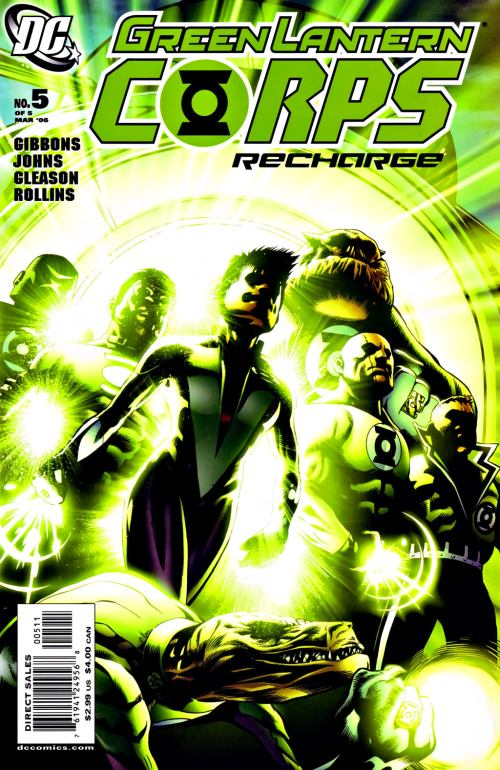 green lantern corps recharge vol 1 5 dc database fandom powered