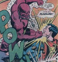 The Parasite has a rematch with Superman aided by the Prism of Power.