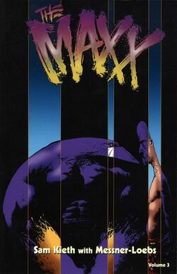 Cover for the The Maxx Vol. 3 Trade Paperback