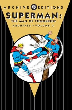 Cover for the Superman: The Man of Tomorrow Archives Vol. 3 Trade Paperback