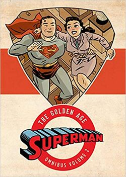 Cover for the Superman: The Golden Age Omnibus Vol. 2 Trade Paperback