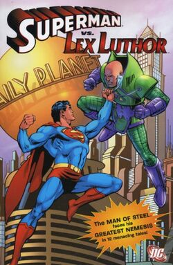 Cover for the Superman Vs. Lex Luthor Trade Paperback
