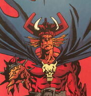 Etrigan wearing the Crown of Horns