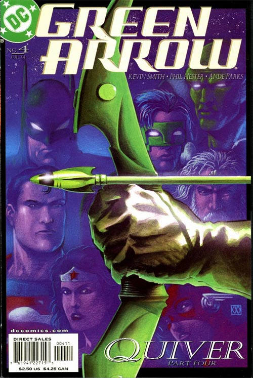 Green Arrow Vol 3 4 Dc Database Fandom Powered By Wikia