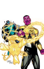 Green Lantern Vol 5 23.4 Sinestro Textless