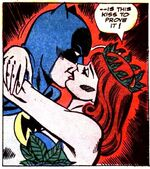 Ivy kisses Batman