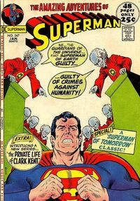The Guardians of the Universe make Superman question whether he's been stunting the progress of humanity.