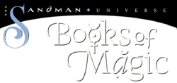 Books of Magic Vol 3 logo