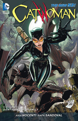Cover for the Catwoman: Death of the Family Trade Paperback