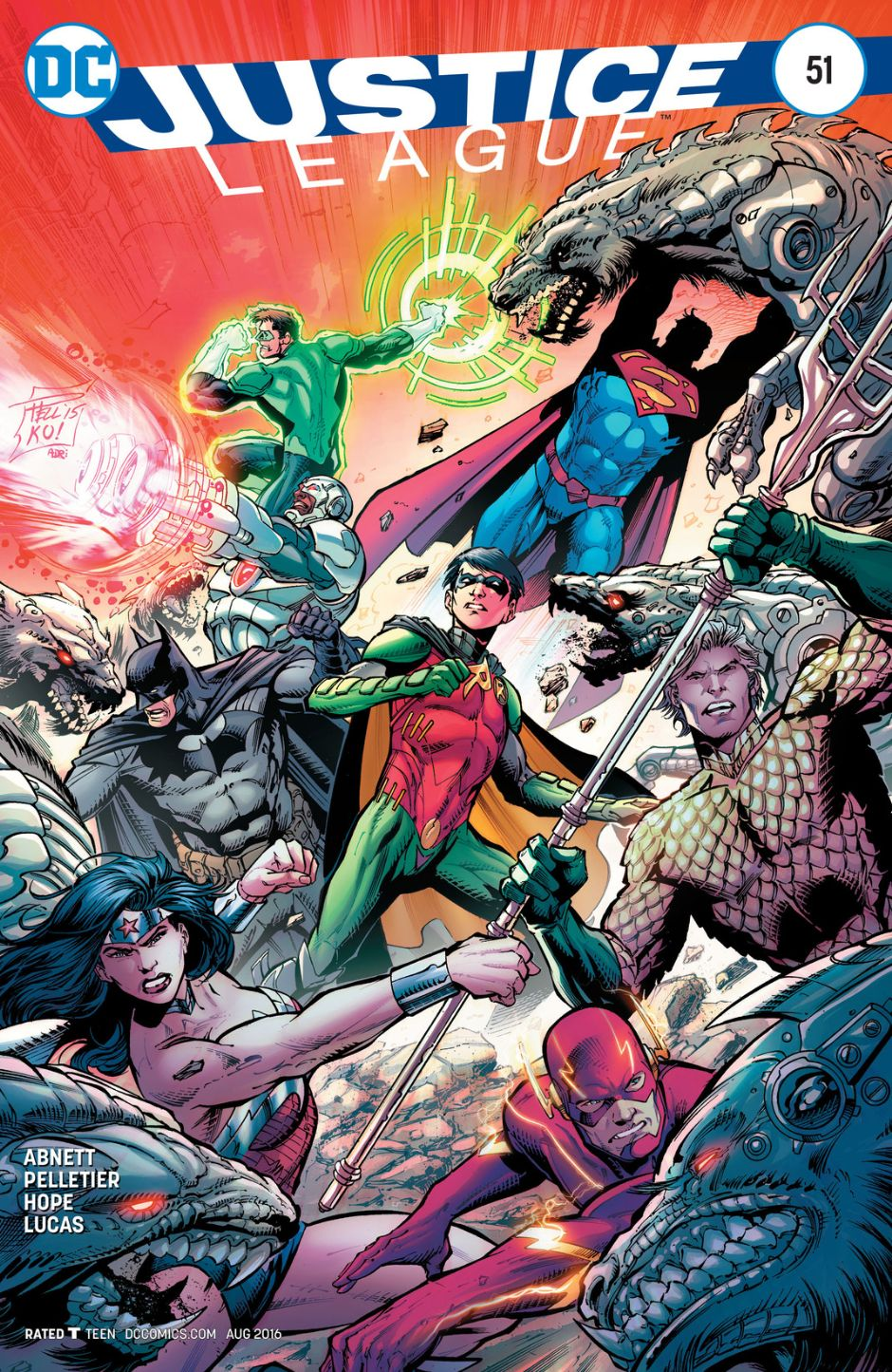 Justice League Vol 2 51   DC Database   FANDOM powered by ...