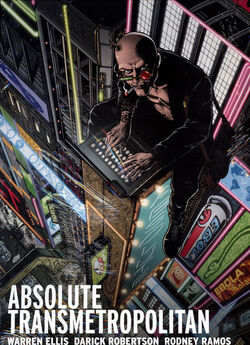 Cover for the Absolute Transmetropolitan Vol. 1 Trade Paperback