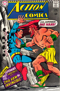 Superman meets his match against Zha-Vam