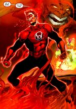 Hal as a Red Lantern