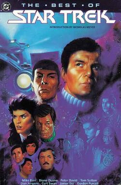 Cover for the Star Trek: The Best of Star Trek Trade Paperback