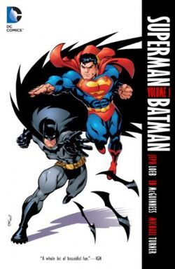 Cover for the Superman/Batman Vol. 1 Trade Paperback