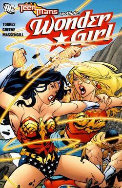 Cover for the Teen Titans Spotlight: Wonder Girl Trade Paperback