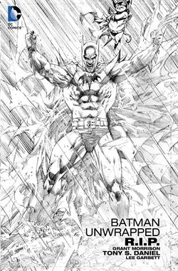 Cover for the Batman R.I.P. Unwrapped Trade Paperback