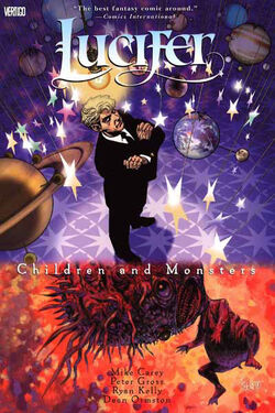 Cover for the Lucifer: Children and Monsters Trade Paperback