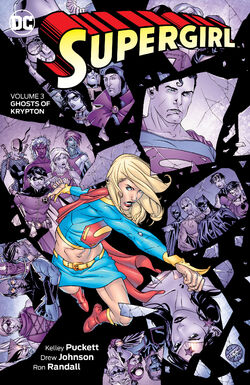 Cover for the Supergirl: Ghosts of Krypton Trade Paperback