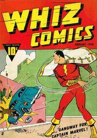 Whiz Comics Vol 1 2
