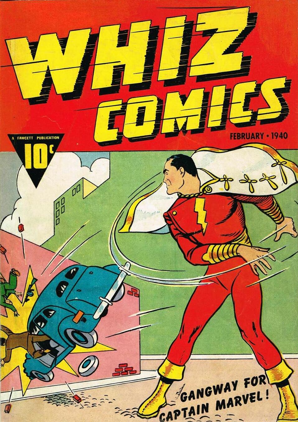 Resultado de imagen para whizz comics 2