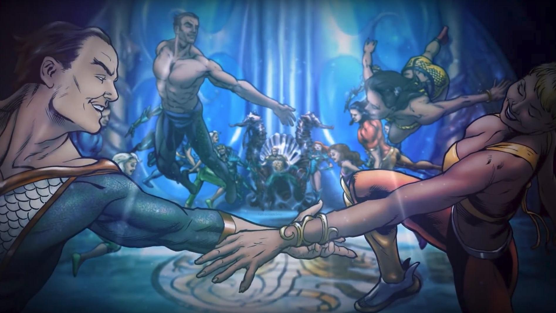 Atlanteans | DC Database | FANDOM powered by Wikia