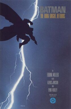 Cover for the Batman: The Dark Knight Returns Trade Paperback