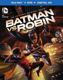 Batman vs. Robin BR cover